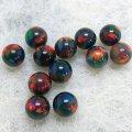 球形オパール(直径5mm)ブラック