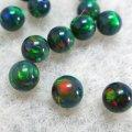 球形オパール(直径5mm)レッドグリーンブルー