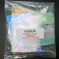 画像3: ダイクロ端材サンプルセット(膨張係数96)クリア板タイプ