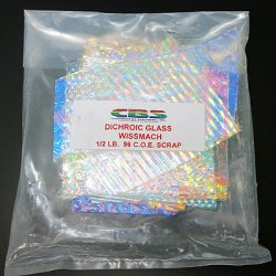 画像2: ダイクロ端材サンプルセット(膨張係数96)クリア板タイプ