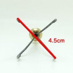 画像3: インサイドアウト・クロー・ホルダー 持ち手真鍮 4爪(SS)
