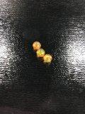 球形オパール(直径5mm)オレンジ