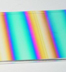 画像1: ダイクロ パターン・RBAシアン・ダーク・ダーク・レッド