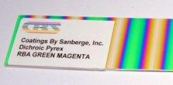 画像2: ダイクロ パターン・RBAグリーン・マジェンタ