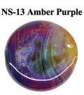 NS   Amber/Purple Frit (アンバー/パープル フリット)