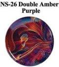 NS   Double Amber/Purple Frit (ダブル・アンバー/パープル フリット)