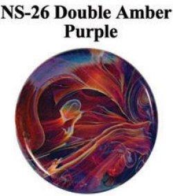 画像1: NS   Double Amber/Purple Frit (ダブル・アンバー/パープル フリット)