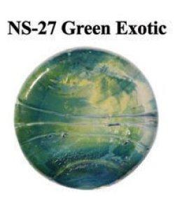 画像1: NS   Green Exotic Frit (グリーン・エキゾチック フリット)