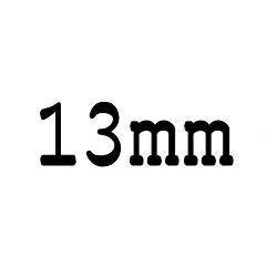 画像1: クリア ロッド 13mm