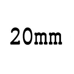 画像1: クリア ロッド 20mm