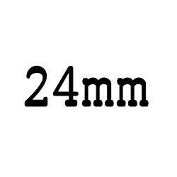 画像1: クリア ロッド 24mm