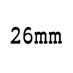 画像1: クリア ロッド 26mm