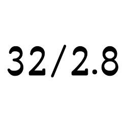 画像1: クリア チューブ 32mm/2.8mm