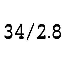 画像1: クリア チューブ 34mm/2.8mm