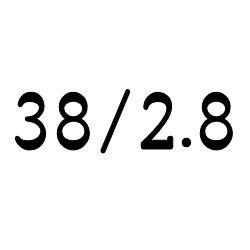 画像1: コーニング・チューブ  38mm/2.8mm