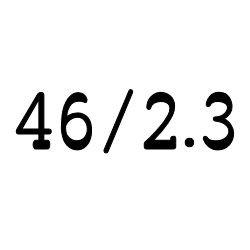 画像1: クリア チューブ 46mm/2.3mm