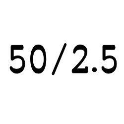 画像1: クリア チューブ 50mm/2.5mm