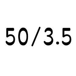 画像1: コーニング・チューブ  50mm/3.5mm
